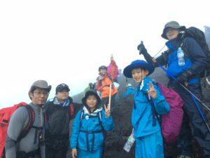 7月度事業(富士山登山)1