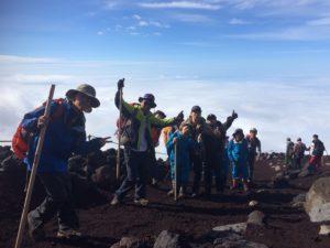 7月度事業(富士山登山)3