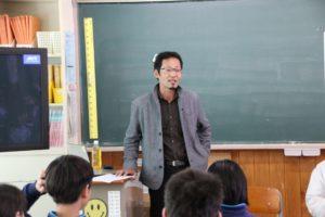 恵那西中学校職業講話 1
