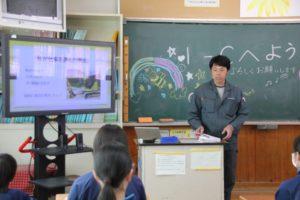 恵那西中学校職業講話 7