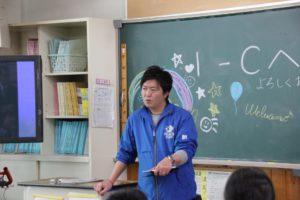 恵那西中学校職業講話 8