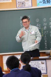 恵那西中学校職業講話 11