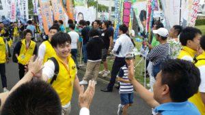 恵那青年会議所 第46回JC青年の船「とうかい号」出航式3