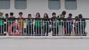 恵那青年会議所 第46回JC青年の船「とうかい号」出航式9
