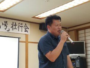恵那青年会議所 「とうかい号」壮行会9